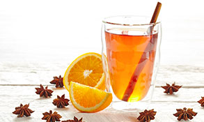 winter spiced teas